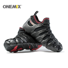 купить Onemix Rome shoes men & women running shoes light outdoor walking shoe sock-like sneakers environmentally friendly jogging shoes по цене 4558.53 рублей