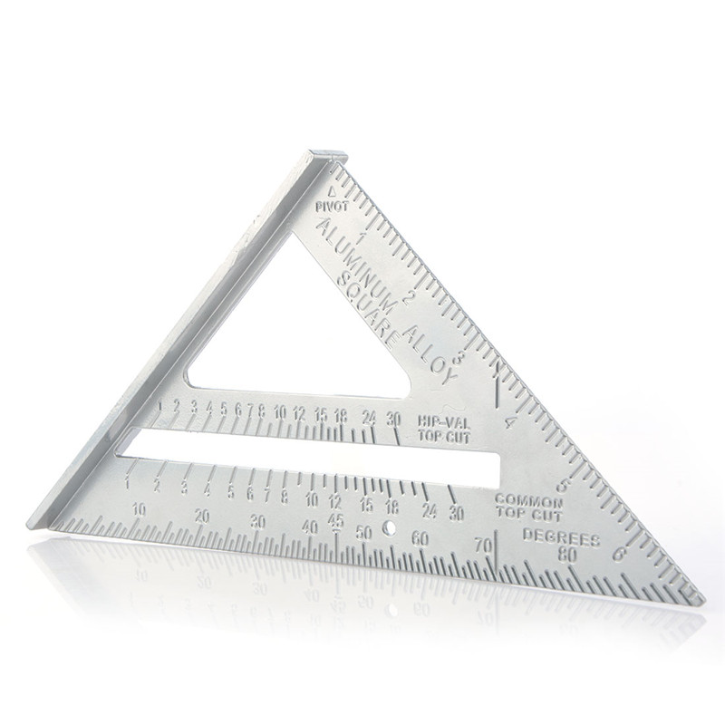 7 Inch Triangle Rule 90 Degree Carpenter Measuring Tools Triangle Corner Carpenter Speed Square Measuring Instruments