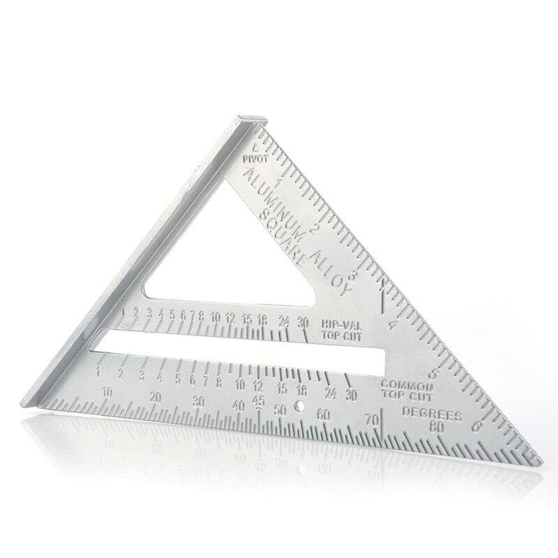 7 Inch Triangle Rule 90 Degree Carpenter Measuring Tools Triangle Corner Carpenter Speed Square Measuring Instruments  Scriber