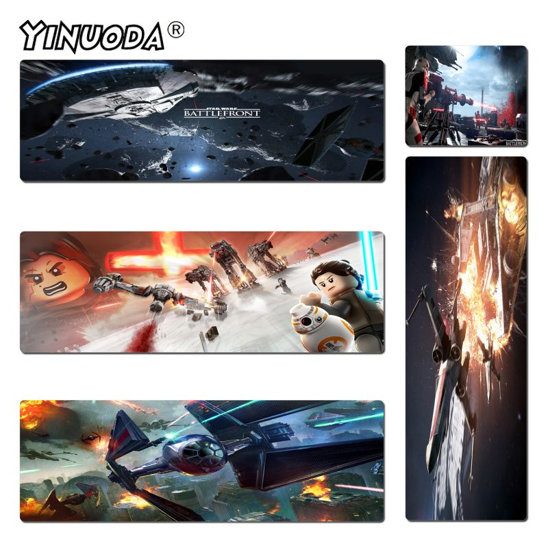 Yinuoda Personalized Cool Fashion Star Wars Gaming Or Office Mice Play Mats Size 180*220 200*250 250*290 300*900 and 400*900*2mm ...