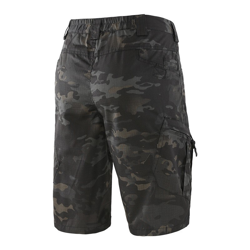 Outdoor Trekking Tooling Camouflage Mens Short Summer Tactical  Military Sportswear Fishing Hiking Army Clothes Cargo Shorts