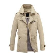 Galleria trench coat man all Ingrosso - Acquista a Basso Prezzo trench coat  man Lotti su Aliexpress.com 23681c80e65