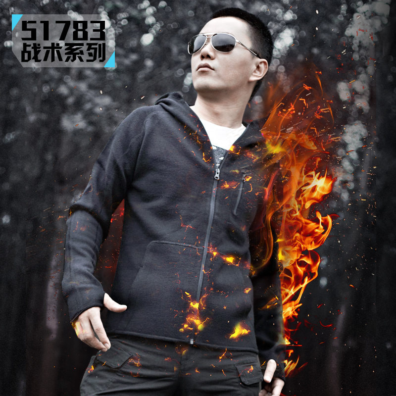51783 2016 Outdoor Sports Winter Military Warm Tactical Jacket Men Thermal Breathable Hooded men Jacket Coat