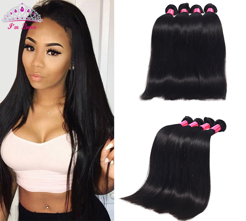 Top Quality Peruvian Virgin Hair Straight 4bundles 7A Unprocessed Peruvian Straight Virgin Hair Weave Cheap Human Hair Extension