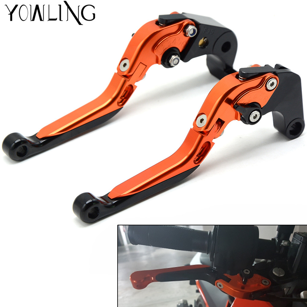 Motorcycle handbrake Brakes Clutch Lever Levers For KTM ADVENTURE 1050 2015 690 EnduRo R 2014-2016 motorbike Levers handle mtkracing cnc aluminum brake clutch levers set short adjustable lever for ktm adventure 1050 690 duke smc smcr 690 enduro r