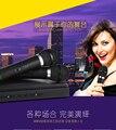 2017 Новейший Профессиональный Двойной Ручной 2 х Микрофон Беспроводной Приемник J-306 Беспроводная Микрофонная Система для диско и КТВ и дома использовать