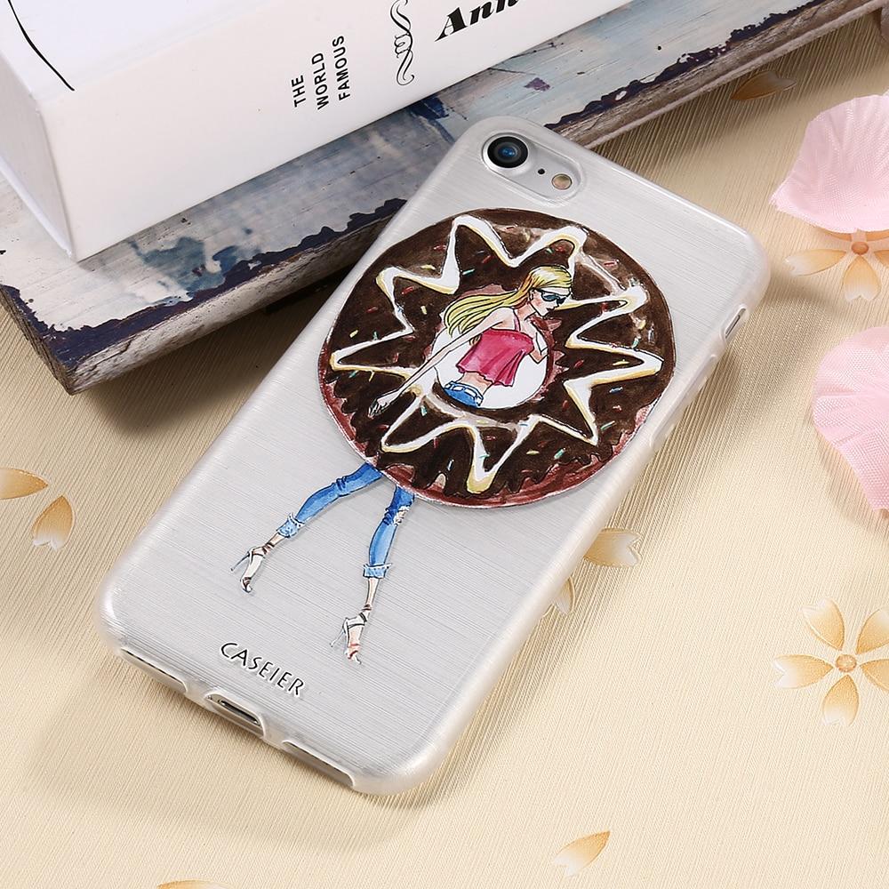 CASEIER Հեռախոսի պատյան iPhone 8 8 Plus 7 7 Plus Cover - Բջջային հեռախոսի պարագաներ և պահեստամասեր - Լուսանկար 3