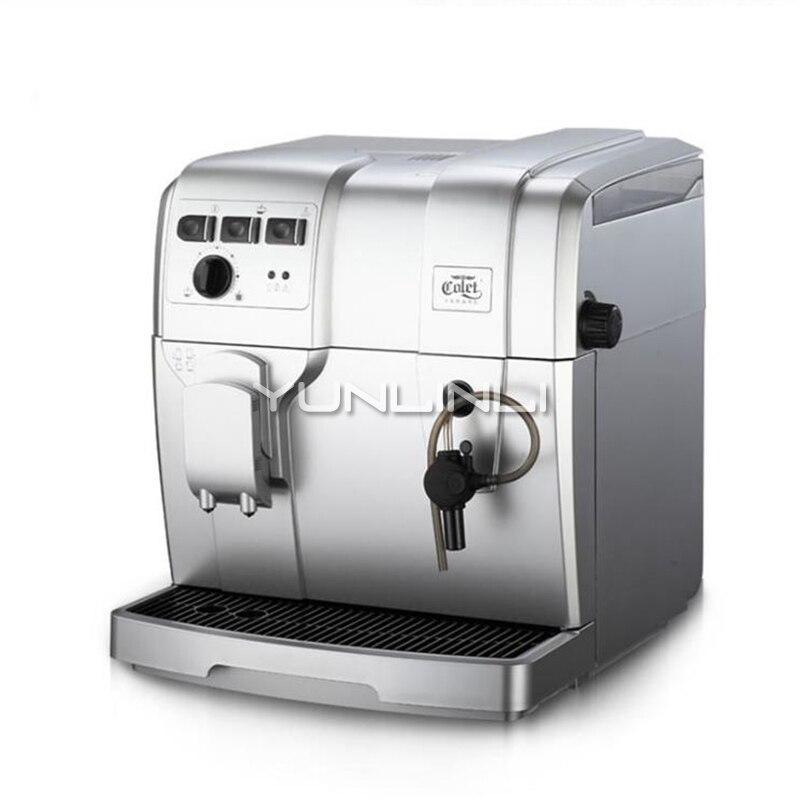 Auto Italian Coffee Maker High Pressure 19 Bar Household Commercial Steam Milk Bubble Grinder Espresso Coffee Beans Machine