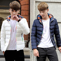 White Cotton Jackets for Men  Cotton-padded Coat Black / Blue Men's Outwear  Plus Size M - 4XL