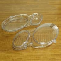 Left+Right Car Headlight Lens Glass Cover for Benz W211 E240 E200 E350 E280 E300 2002 2008 Lampcover Cover Lampshade Shell