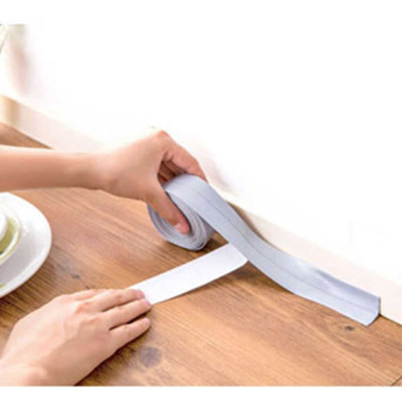 2 размера для дома ванной комнаты кухни пвх настенные художественные наклейки уплотнительная полоса герметизирующая лента плесени устойчивая Водонепроницаемая Pegatinas