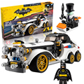 Lepin 07047 Super Heroes BatmanThe Penguin Arctic Roller building Blocks New year Gift Toys for children Bela Decool 70911