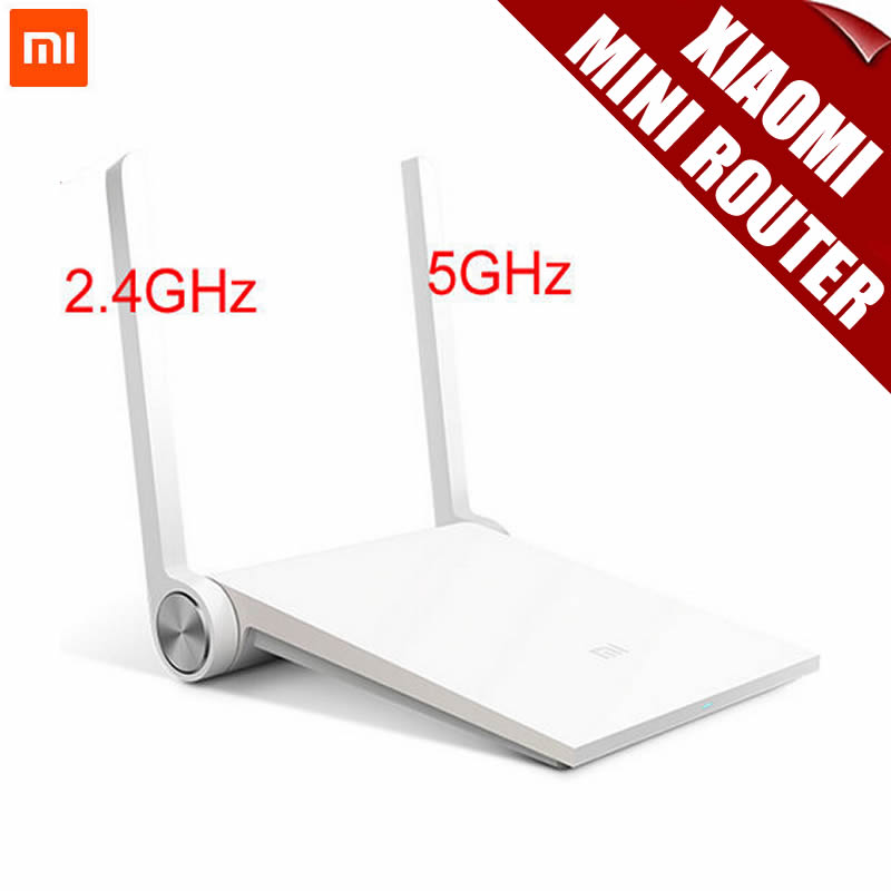 ФОТО Original Xiaomi Router Mini MI Router(White)Dual-band 2.4GHz/5GHz Maximum 1167Mbps Support Wifi 802.11 AC