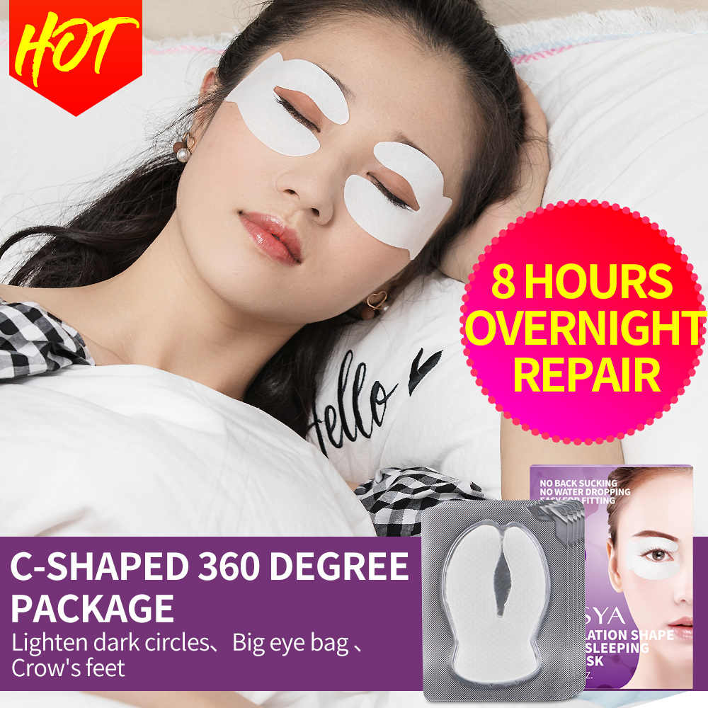 Ilisya C Siklus Anti Kerut Mata Patch untuk Lingkaran Hitam Kerut Penghapusan Hydrating Pelembab Masker Mata