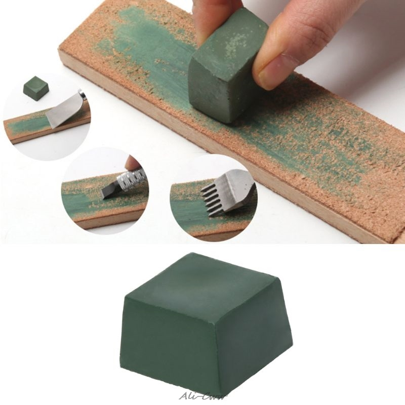 Green Alumina Abrasive Polishing Paste Buffing Compound Metal Knife Blade Grinding Use