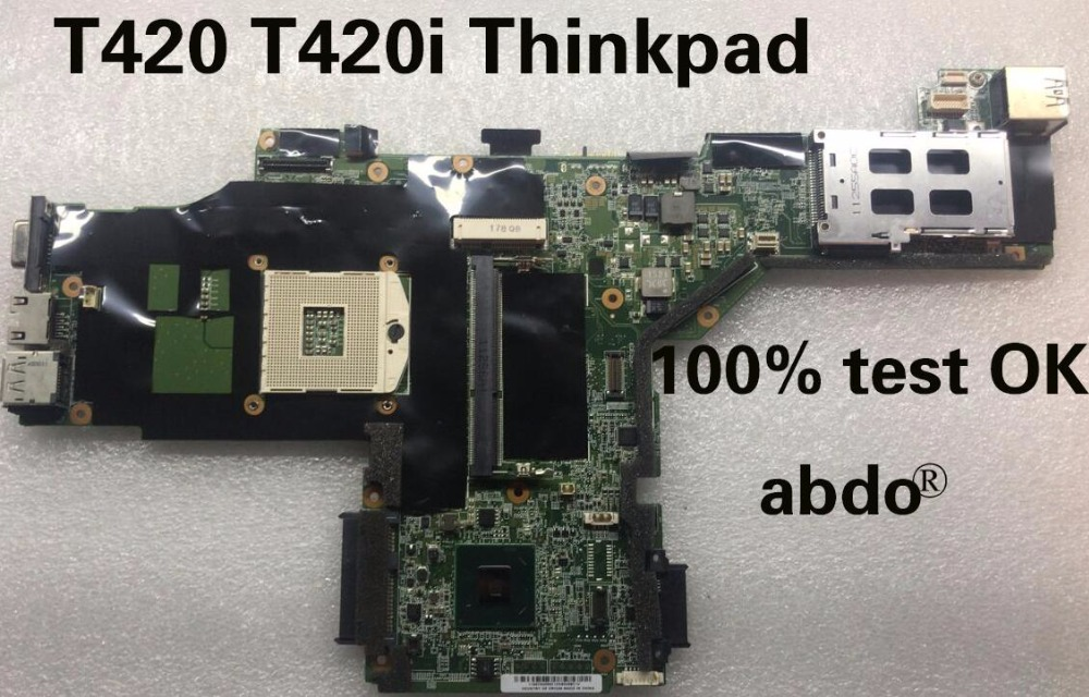 Abdo Lenovo Thinkpad T420 T420i Laptop motherboard QM67 DDR3 integrated graphics card 100% test OK