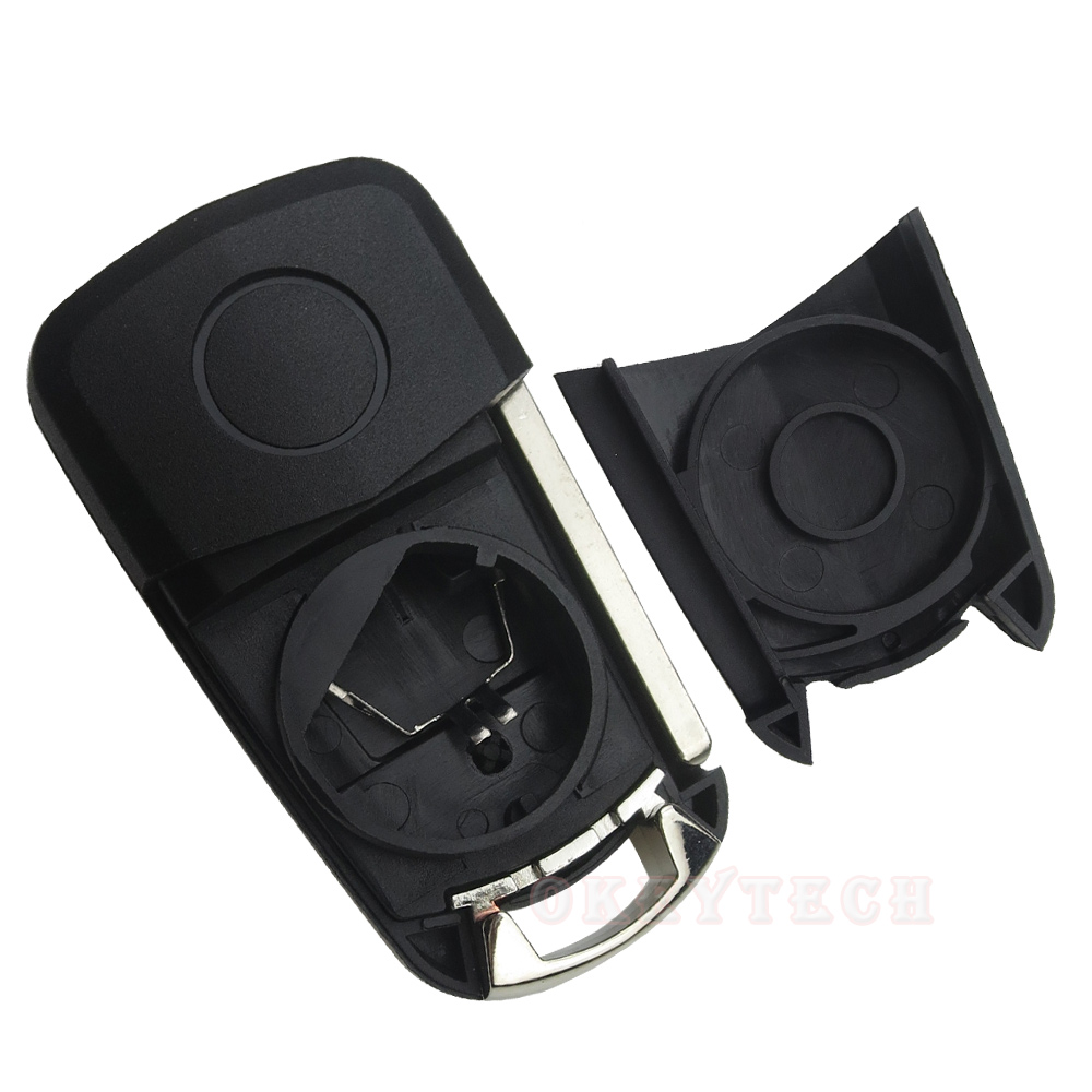 2 3 Button Flip Fold Remote Key Fob For Opel Car Switchblade Key Shell Cover Case For Vauxhall Astra Corsa Vectra Zafira No Logo