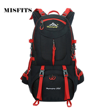 50L Backpack Men Women Professional Backpacks Bags High Quality Backpack Travel Bag Rucksack YS1376