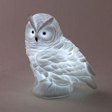 High Quality Lovely Creative Night Light Cartoon Fox Owl Light Silicone Dolls Nightlight Baby Bedroom Table Lamp