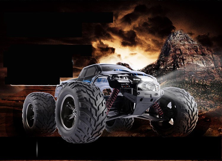 RC Truck 9115 45kmH 2.4 GHz Remote Control Dirt Bike Crawler Drift Carrinho Controle Remoto Bigfoot High Speed Car FSWB ...