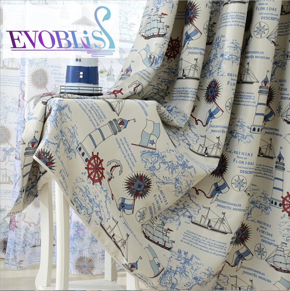 2016 Mediterranean style blackout curtains cortinas infantiles curtains for living room curtains for children kids room curtains