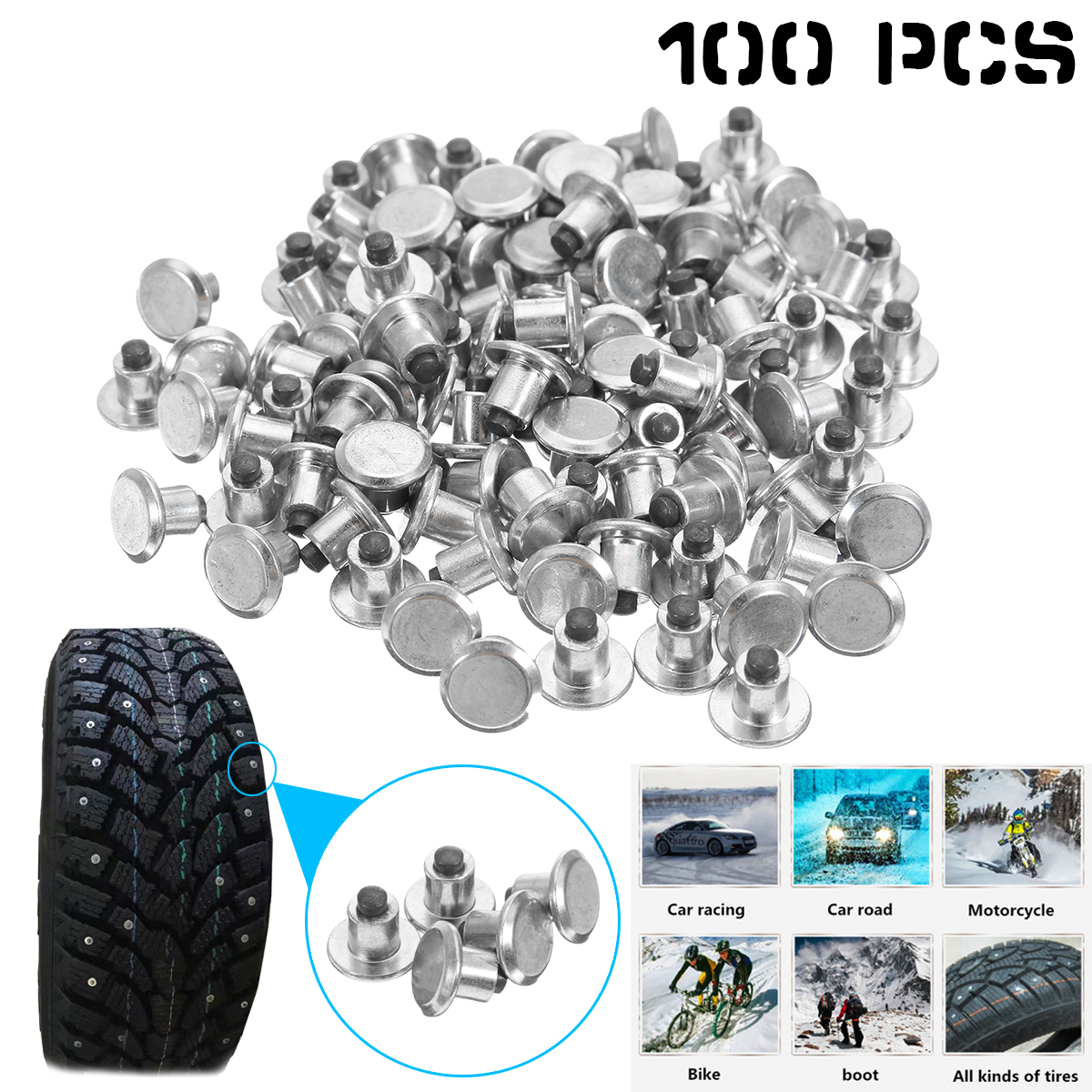 100pcs-universal-spikes-for-tire-car-wheel-tyre-studs-snow-winter-anti-slip-screw-stud-trim-for-auto-suv-atv-truck-motorcycle