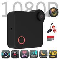 WiFi Selfie Camera DV Recorder Wearable IP Camera Motion Sensor Bike Body Micro Mini Batterry DV DVR Magnetic Clip Voice Record