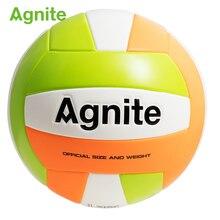 ab682f69cf Agnite PU5 mão adesivos voleibol Profissional se sentir  confortável-resistente ao desgaste elástico bom bolas