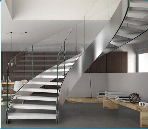 2015 nuevo dise o de acero inoxidable helicoidal escalera for Escaleras helicoidales