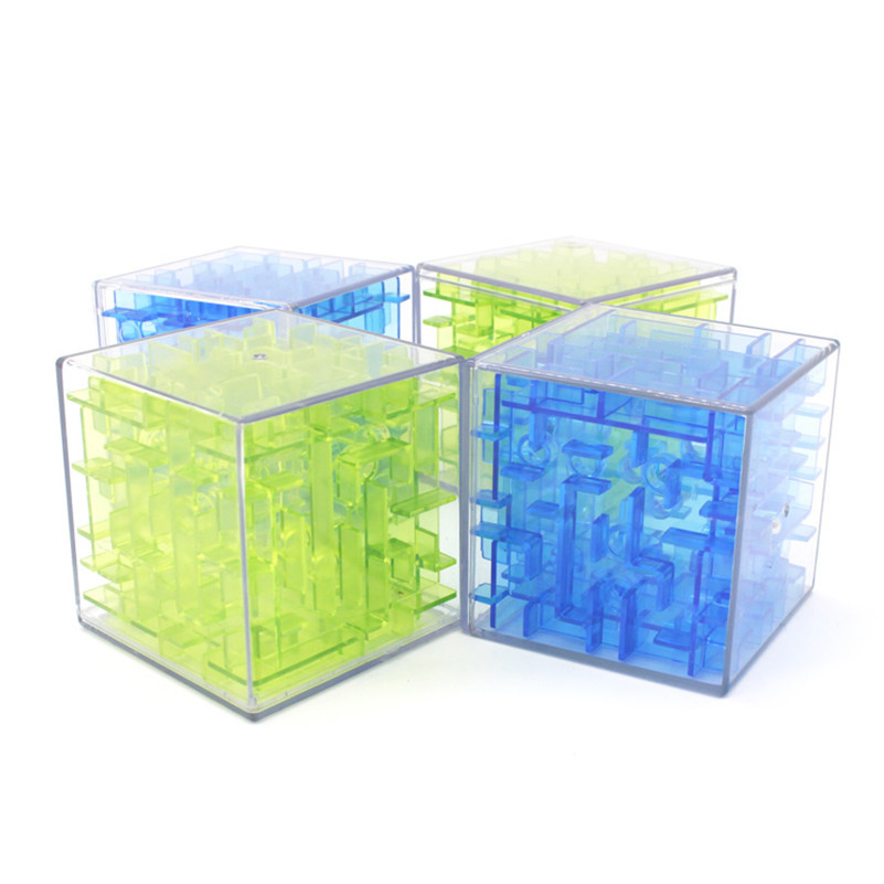3D Maze Magic Cube Labyrinth Rolling Ball font b Toys b font Cubos Magicos Puzzle Speed
