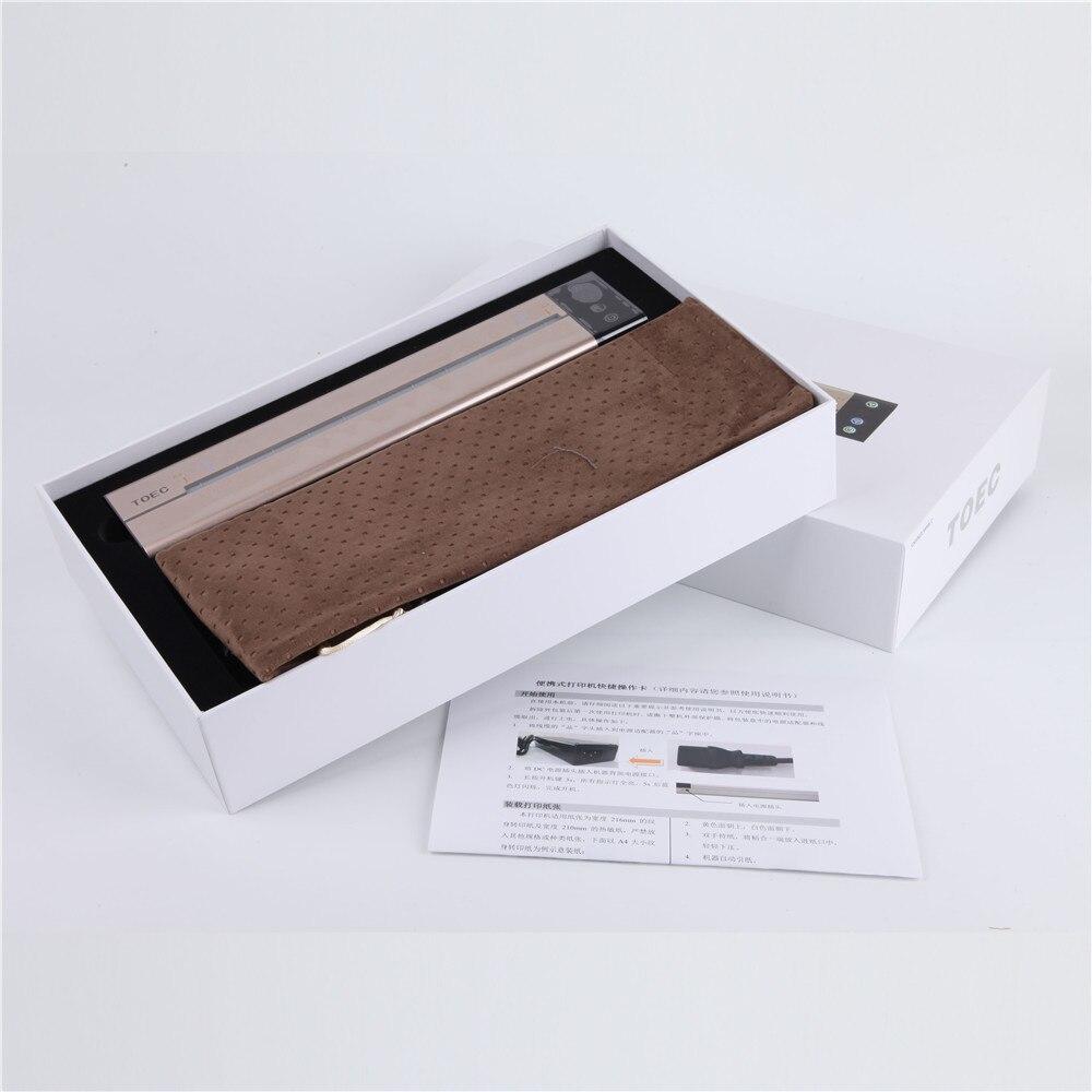 2018 Date Biomaser Mini Machine De Transfert De Tatouage APP Copieur Imprimante Dessin Thermique Pochoir Copieur Pour Papier De Transfert De Tatouage