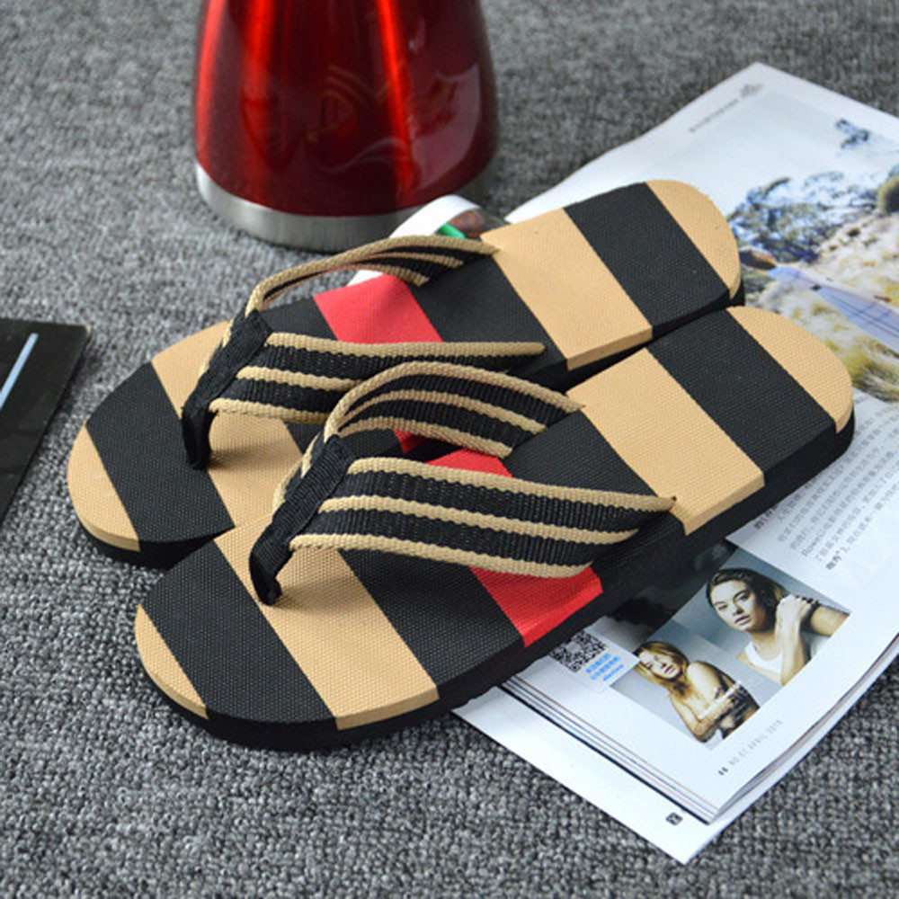 2019 Slippers Men Slippers Flip Flops Men's Shoes Home Flip Flop Outdoor Or Bathroom Comfortable Chaussure Homme Terlik Chinelo