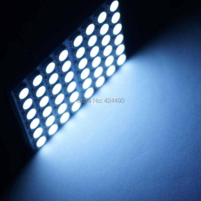 AORUNYEBAO 2pcs 48 LED ploča bijela automobila svjetiljka mapa za - Svjetla automobila - Foto 3
