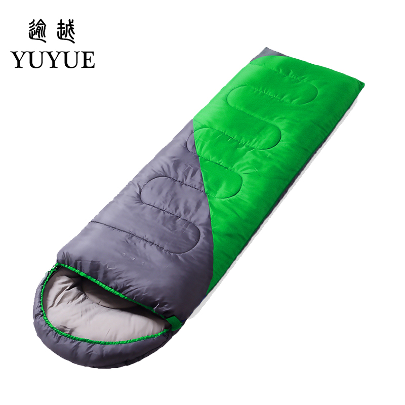 High Quality 1 kg Cheap Sleeping Bag For Beach Accessories Sleeping Bags For Lovers Camp Tourism Hiking Sleeping Bag Ultralight 2