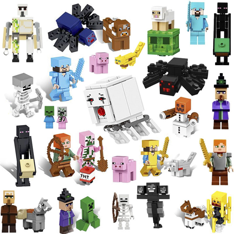 Toys & Hobbies Buy Cheap Happy Birthday Gifts Compatible Legoing Minecraft Hidden Water Falls 957pcs Model Building Blocks Toys For Children Legoing
