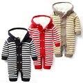Macacão de inverno do bebê além de vilo nova nascidos macacão de uma peça desgaste do bebê menino roupas roupa de bebe recem nascido menino macacão
