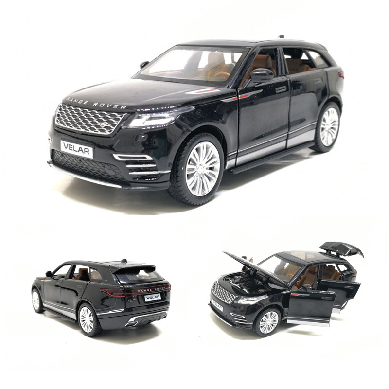 Best Selling 1:32 Range Rover Velar Alloy Model,simulation Die-cast Metal Sound And Light Back To Luxury SUV Model,free Shipping