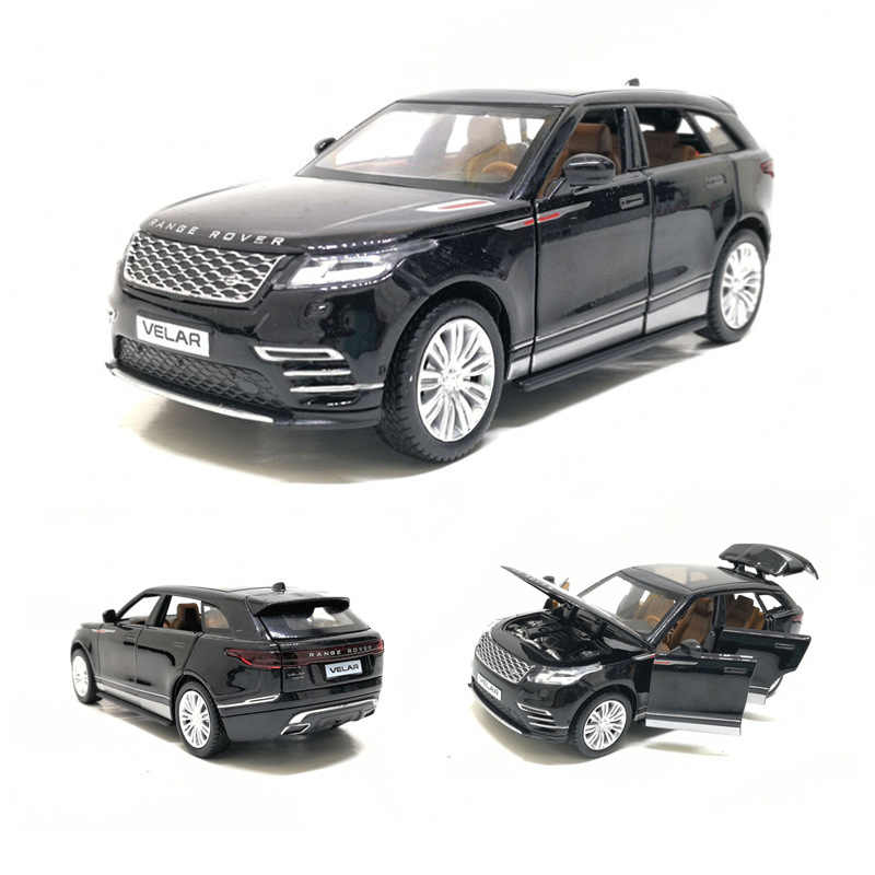 Hot Selling 1:32 Velar Off-Road Alloy Model,Simulating Die-cast Metal Sound and Light Back to Luxury SUV Model,Free Shipping