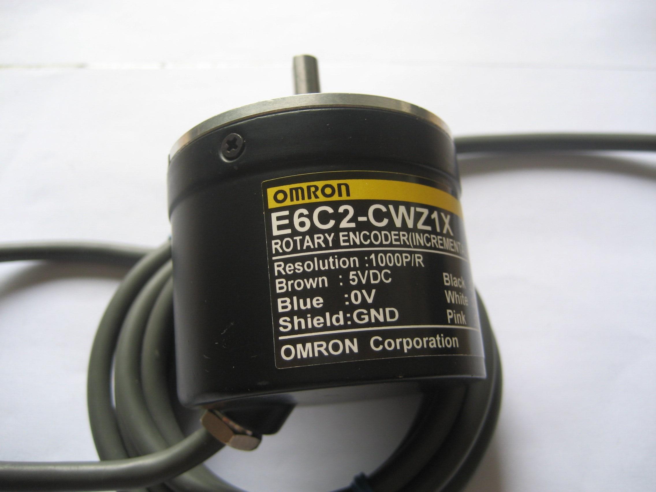 Livraison gratuite Servo moteur encodeur e6c2-cwz1x 1500 P/R