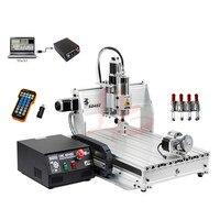 Limit switch mini cnc router metal engraving cutting machine 6040Z 1500W USB port DiY PCB milling