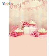 цена Yeele Professional Photography Backdrops Cake Flowers Flags Basket Dreamy Gifts Baby Photographic Backgrounds For Photo Studio онлайн в 2017 году