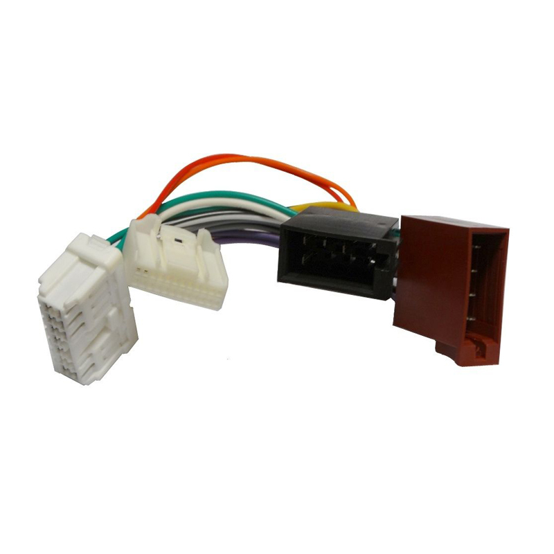 Car Stereo Radio ISO Wiring Harness Connector Adaptor Cable for RENAULT Logan, Sandero, Duster 2012+,DACIA <font><b>2011</b></font>+ image