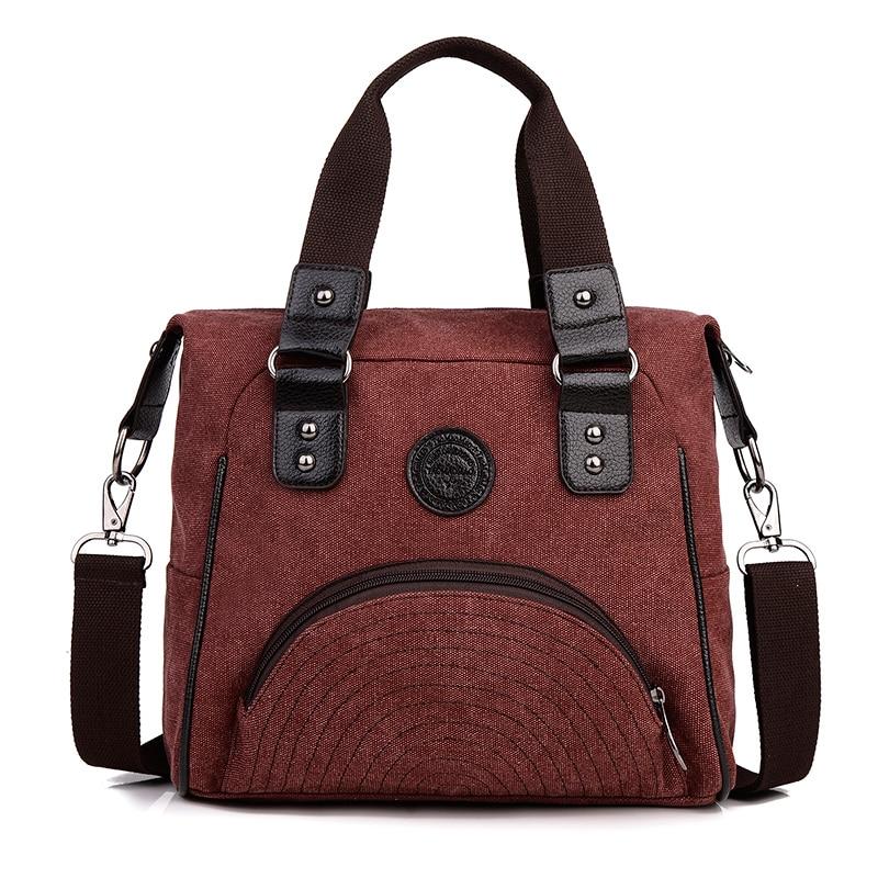 Canvas Women Messenger Bags Designer Handbags High Quality Women Famous Brand Sh