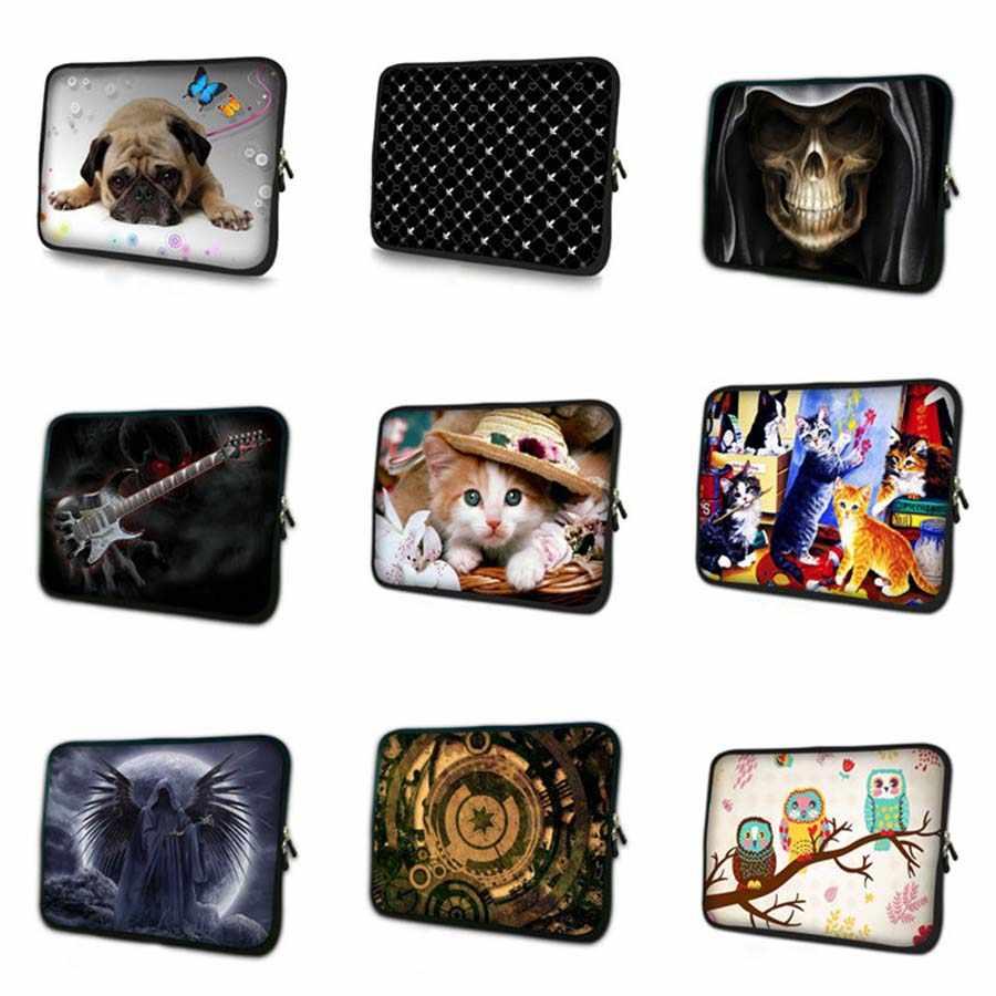 カスタムロゴラップトップバッグ 7 10.1 11.6 13.3 14 15.4 15.6 17.3 タブレットケースノートブック pc カバーのための macbook pro 13 retina NS-9387