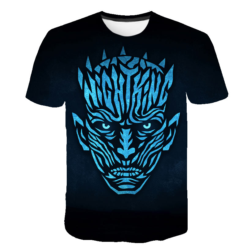 100% Kwaliteit Game Of Thrones 8 3d Gedrukt T-shirts Lente Tops Zomer Tees Mannen Vrouwen Korte Mouwen Casual Personaity T Shirts Biaolun S-6xl Uitstekende Eigenschappen