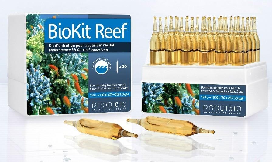 BioKit Reef PRODIBIO maintenance kit for reef aquarium marine reef coral SPS LPS salty tank treatment