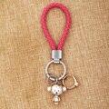MILESI Любители Брелок Обезьяна Кулон Кольцо Горный Хрусталь женщины симпатичные Key Finder пара Рождественский Подарок Творческий Новая мода K0197