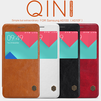Nillkin QIN Series Leather Case For Samsung A5100 A510F Luxury Brand Use Fine Leather 360 Degree