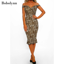 Sexy Office Animal Print Leopard Dress Magnificent Streetwear Wrap Polka-dot Dresses New Arrival 2019 Clothing polka dot self tie wrap dress