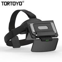 Mini Portable Augmented Reality AR Glasses Immersive 2K FHD IMAX Phone 3D AR VR Helmet Cinema Movie Game for 4.7 6 Smartphone